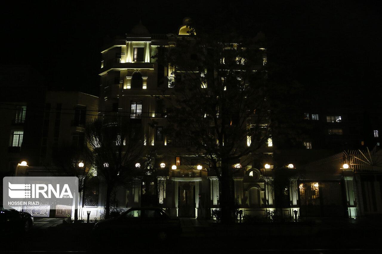 مصرف برق عجیب برخی از اماکن پایتخت در نیمه شب + عکس