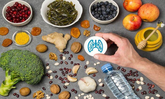 برای سلامت ریه چه غذاهایی باید مصرف کنیم؟