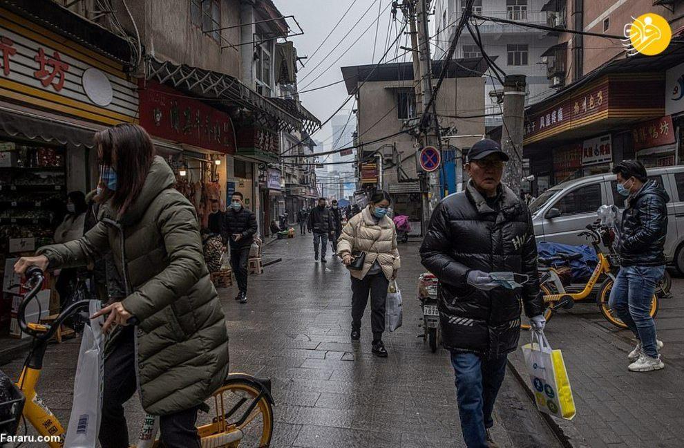 گشتی در بازارهای ووهان چین + عکس