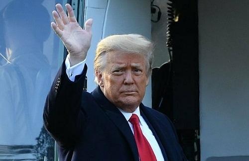 ترامپ، روزی که وارد کاخ سفید شد و روزی که رفت +عکس