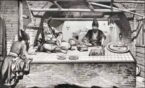 نخستین پیک غذا در تاریخ ایران +عکس