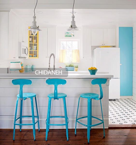 چند توصیه رنگی برای نشیمن و آشپزخانه