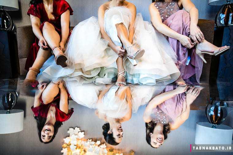 زیباترین عکسهای هنری مراسم ازدواج
