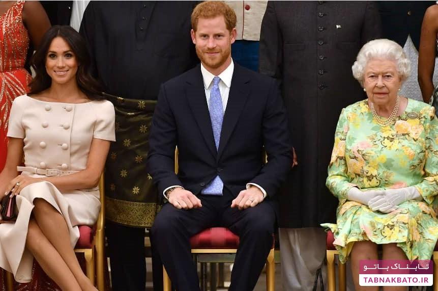 همزمانی برنامه ملکه و زوج جدا شده از سلطنت