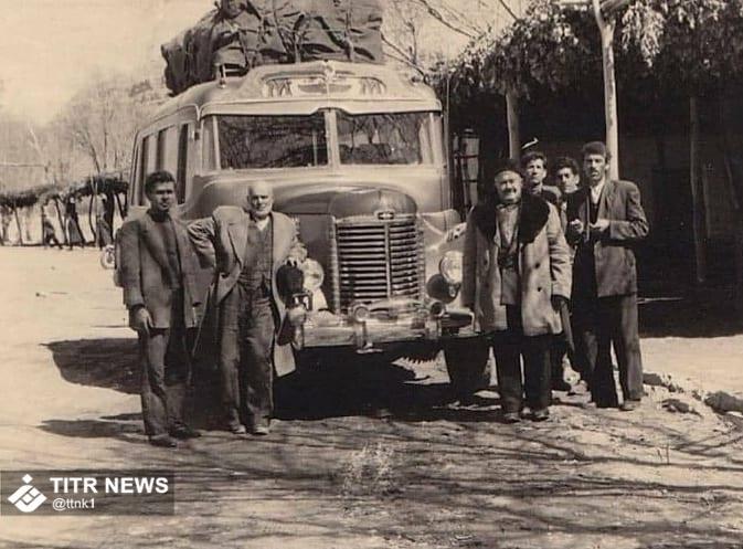 نحوه سفر زائران مشهدی در دهه 30 + عکس