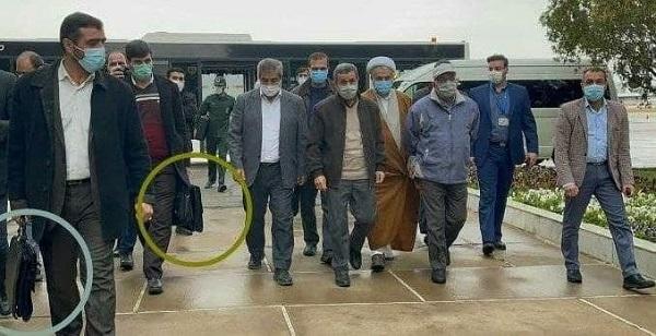 تصویری خاص از سفر احمدینژاد به سیسخت