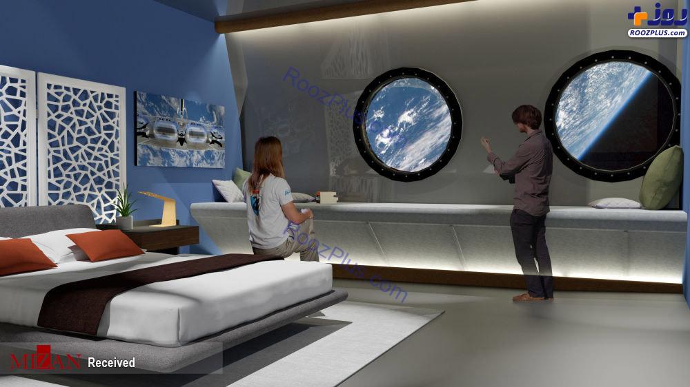 افتتاح اولین هتل فضایی +عکس