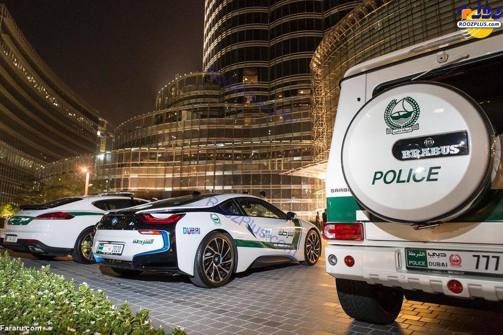 ابرخودروهای پلیس دبی+عکس
