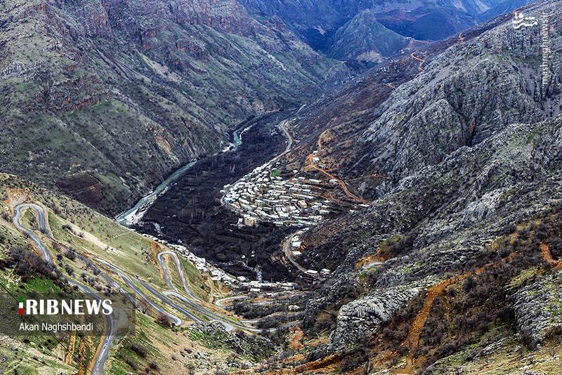 روستای هزار ماسوله کردستان+عکس