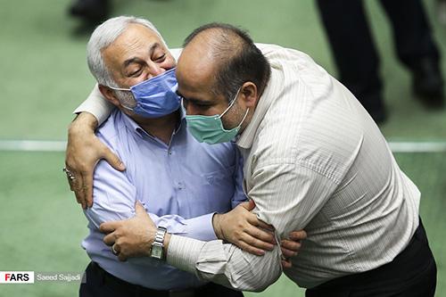 تصاویر حاشیهای از صحن علنی امروز مجلس