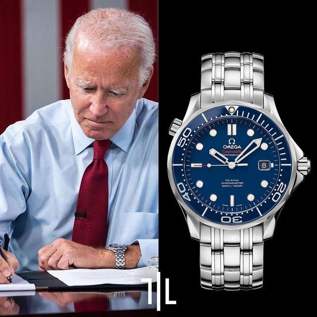 ساعتهای مورد علاقه جو بایدن -رئیس جمهور تازه آمریکا- کدامها هستند؟