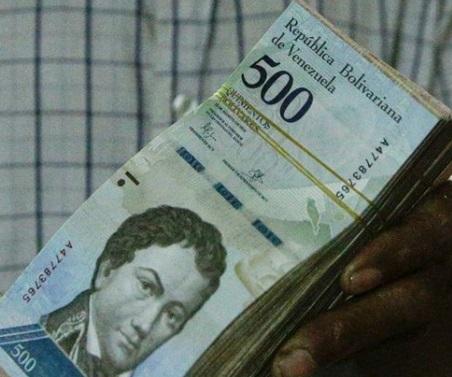 برابری یک میلیون واحد پول ونزوئلا با نیم دلار