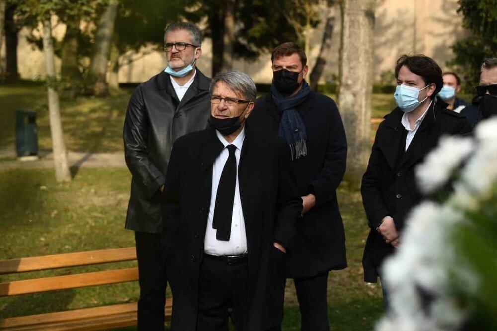 مراسم خاکسپاری زلاتکو کرانچار با حضور مربیان سرشناس کروات + عکس
