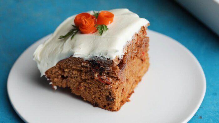 خلق کیک هویج، بدون نیاز به فر