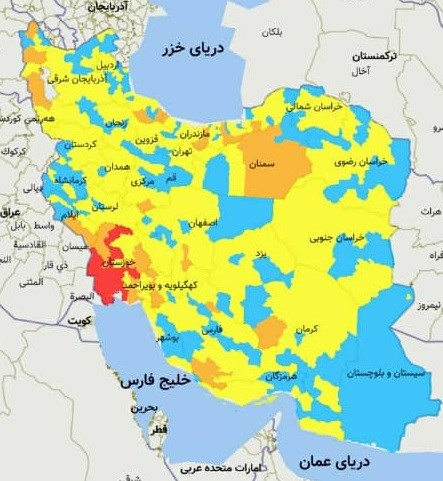 سفر به کدام شهرها در آستانه نوروز ممنوع است؟ +نقشه