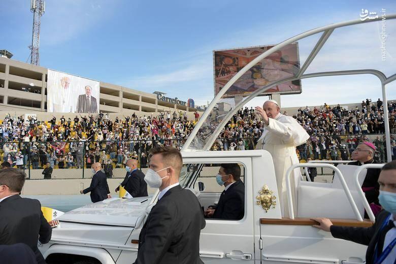 کاروان اسکورت خبرساز پاپ در عراق +تصاویر