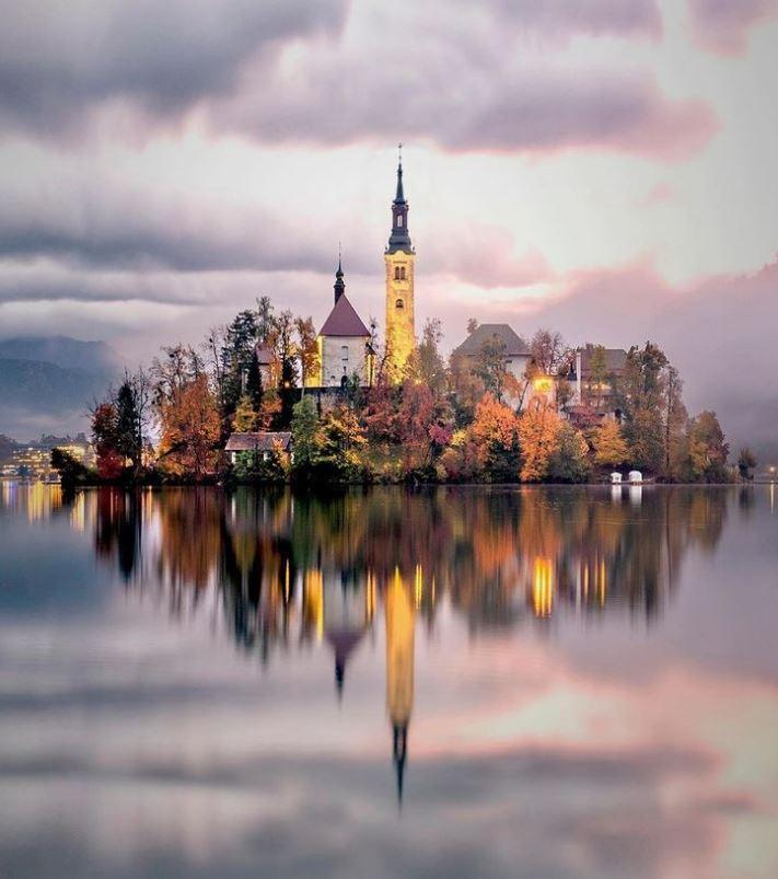 تصویری زیبا از طبیعت اسلوونی