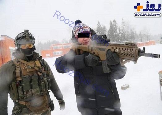 تفنگی عجیب و غریب در ارتش روسیه+عکس