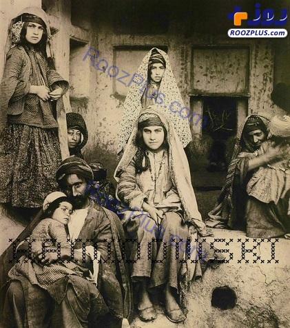 ظاهر جالب دختران یک خانواده در اواخر دوران قاجار+عکس