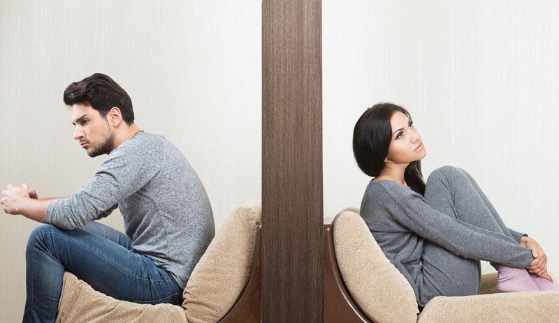 چرا یکی از زوج سکوت را انتخاب میکند؟