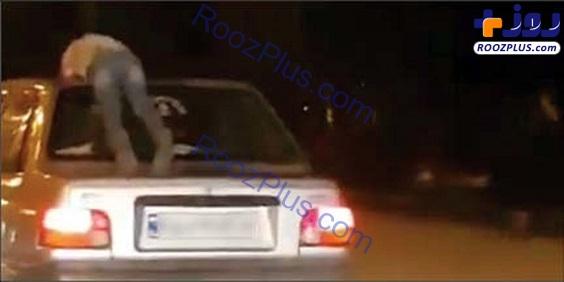 کودک آزاری با پراید جنجالی شد +عکس