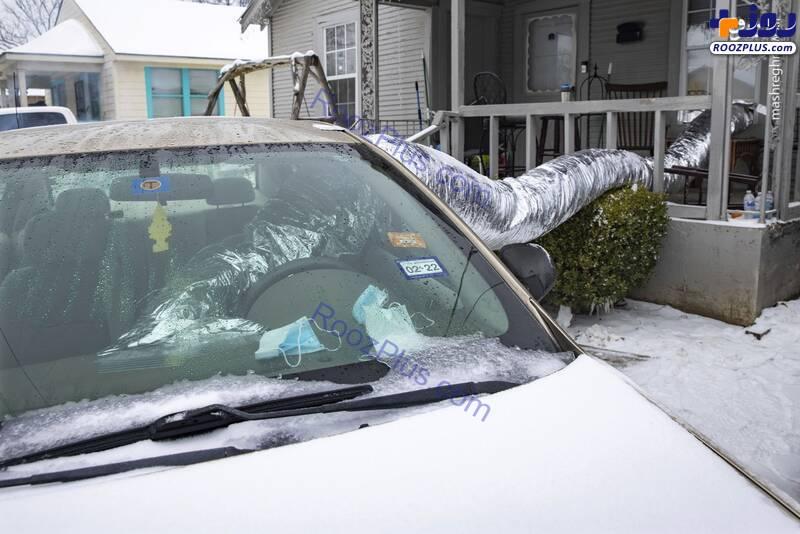 کار عجیب شهروندان آمریکا برای گرم کردن خانه+عکس