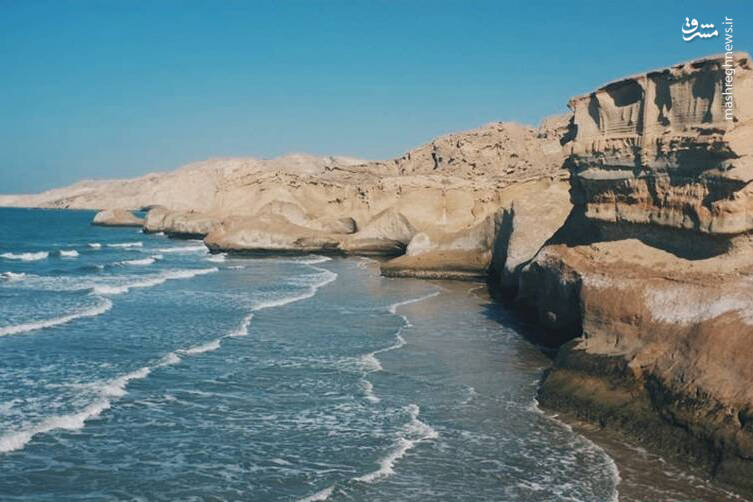 ساحلی منحصر بفرد در عسلویه+عکس