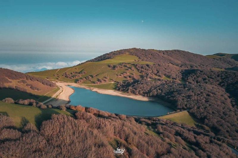 دریاچه زیبای سوها در اردبیل + عکس