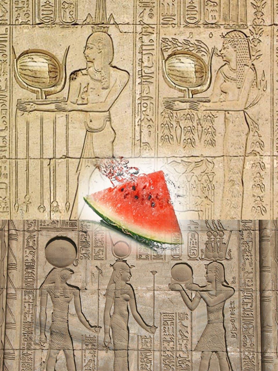 میوه قبر در مصر باستان + عکس