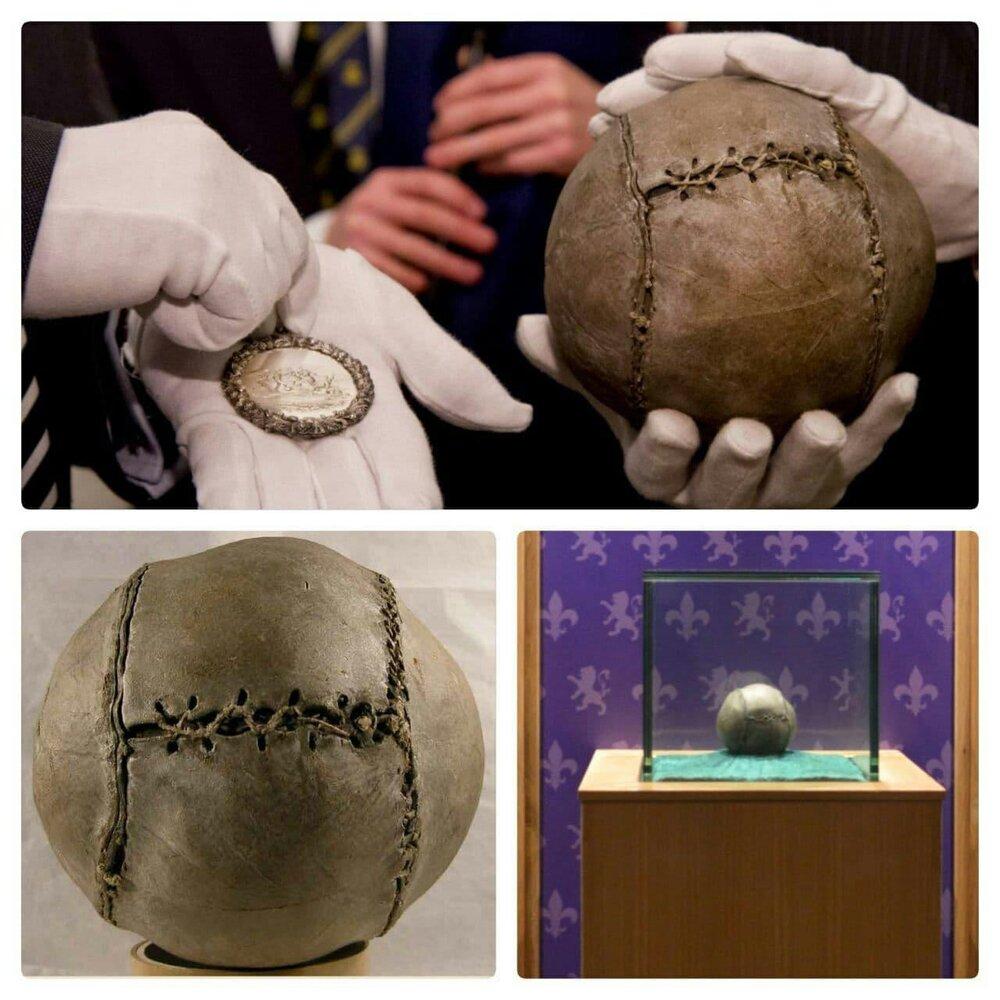 قدیمیترین توپ فوتبال جهان+ عکس