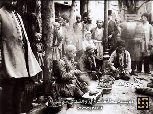 جگرکی های تهران قدیم + عکس