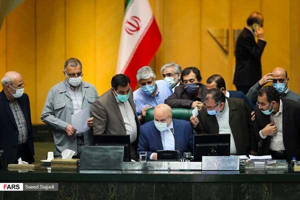 حاشیههای تصویری از جلسه مجلس انقلابی