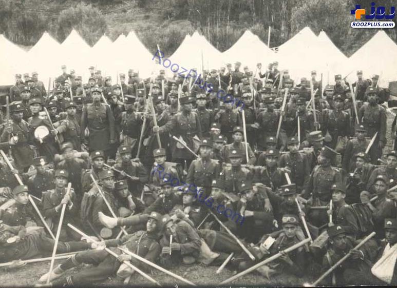 مجلس سربازگیری در عصر پهلوی اول+عکس