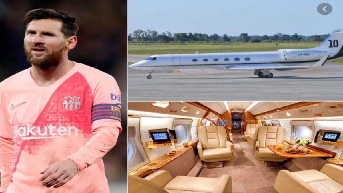 مسی هواپیمای شخصی خود را به رئیس جمهور اجاره داد +عکس