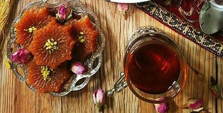 """طرز تهیه """"حلوای اوماج"""" خانگی برای افطار سریع"""