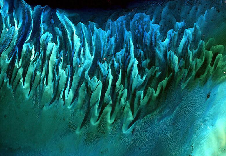 شگفتانگیزترین تصاویری که از مناظر زمین در فضا گرفته شده و نامزد عکس برتر ناسا بودند