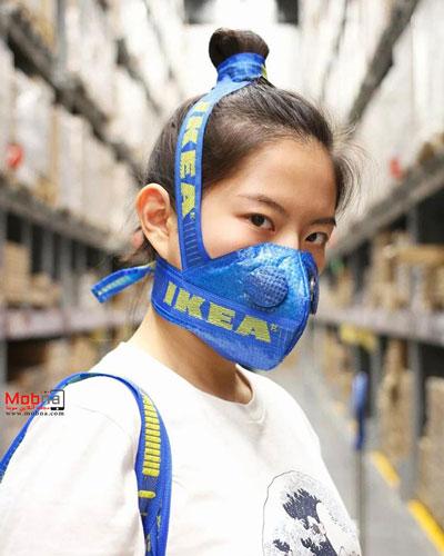 ماسک آیکیا برای مقابله با کرونا+عکس