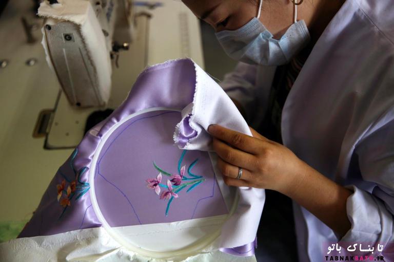 ماسکهای حریری چینی با نمادهای شانس، آخرین مد کرونایی