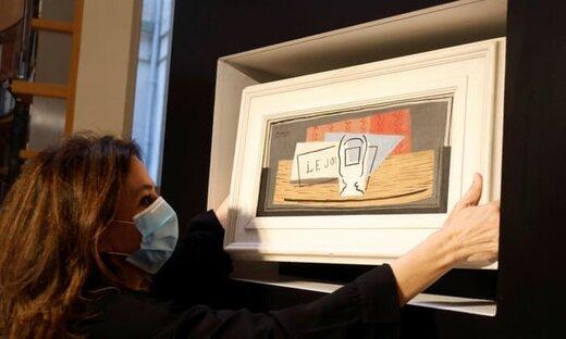 زن خوششانس صاحب نقاشی یکمیلیون یورویی شد