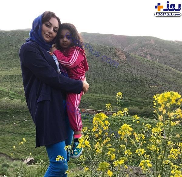 یکتا ناصر و دخترش در طبیعت +عکس