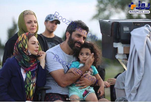 یکتا ناصر و مادرش در کنار منوچهر هادی+عکس