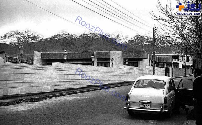 تصویری جالب از شمال تهران در دهه چهل