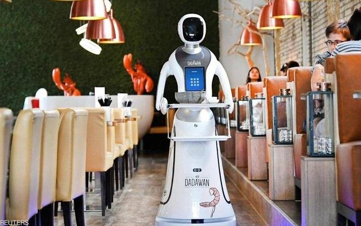 استفاده از ربات در رستوران هلندی +عکس