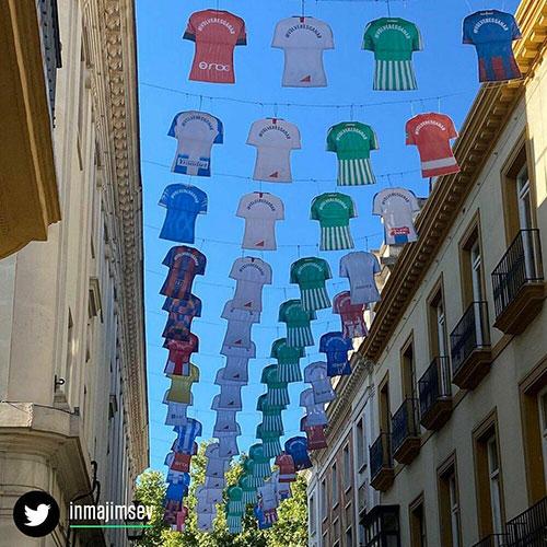 ابتکار جالب اسپانیاییها به بهانه بازگشت فوتبال
