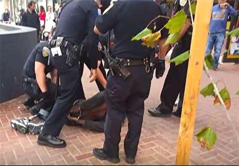 خبرساز شدن بازداشت یک سیاهپوست به سبک جورج فلوید