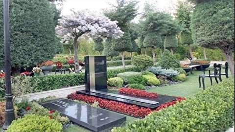 فیلم دیدنی از قبرستان لاکچری و اروپایی در لواسان