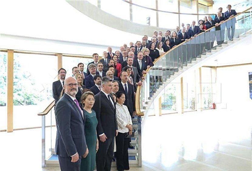 اولین جلسه رئیسجمهور جدید کرواسی با سفرای خارجی