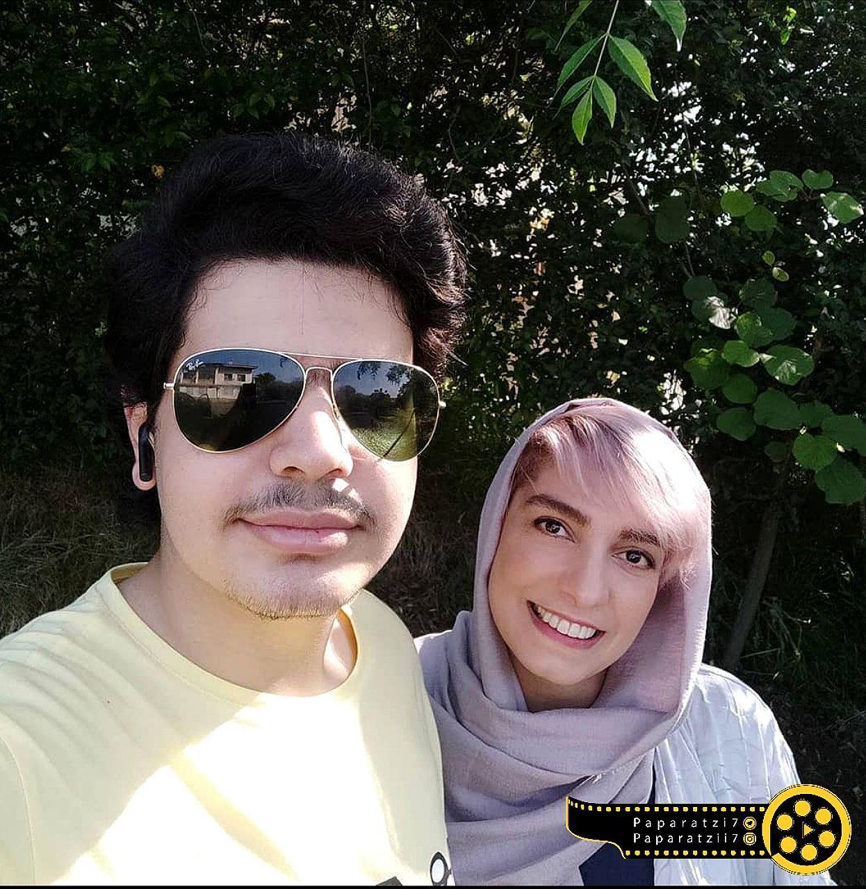 الیکا عبدالرزاقی و برادر زاده اش+عکس