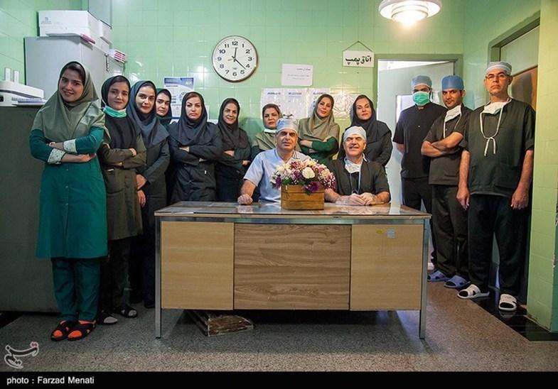 برای اولین بار در جهان؛ عمل دریچه میترال در کرمانشاه +عکس
