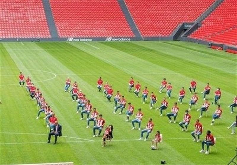 مراسم عجیب خداحافظی فوتبالیست معروف +عکس